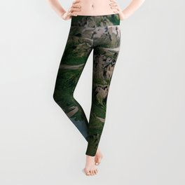 Katmai National Park, Alaska Leggings