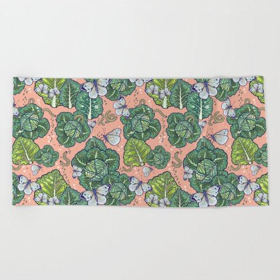garden harmony Beach Towel