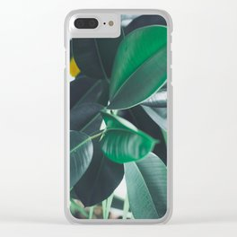 Paradise 05 Clear iPhone Case