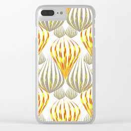 between the balloons Clear iPhone Case