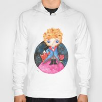 le petit prince Hoodies featuring Le petit prince by Laura Barocio