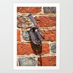 Lock of Ages Art Print