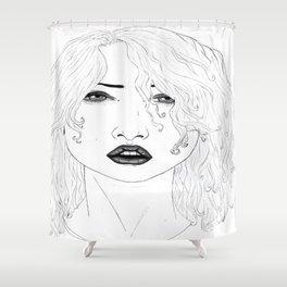 CHUBBY VOODOO  Shower Curtain