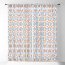 Retro Organic II Blackout Curtain