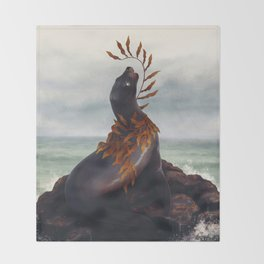 Cold Shore Throw Blanket