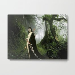 Diana - Mononoke Hime Metal Print