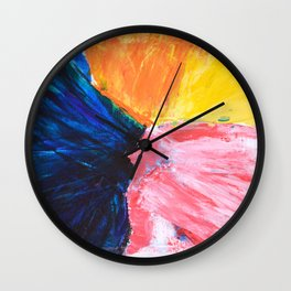 Abstract painting 3 Wall Clock