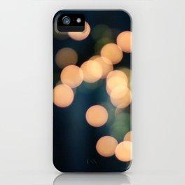Blurry Light iPhone Case