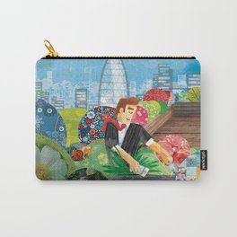 Urban Gardening illustration Carry-All Pouch