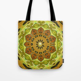 Thrill of Generosity Mandala Tote Bag