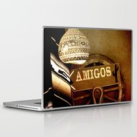 mexican Laptop & iPad Skins featuring Mexican by laika in cosmos