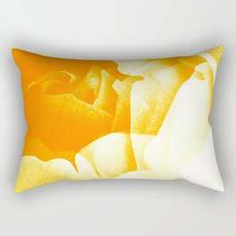 Golden Roses Rectangular Pillow