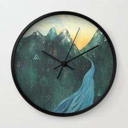 Make Your Mark Wall Clock