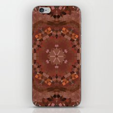 Hardwood Hill Brown Kaleidoscope iPhone & iPod Skin