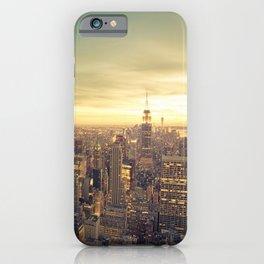 New York Skyline Cityscape iPhone Case
