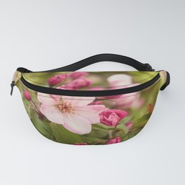 Pink apple buds Fanny Pack