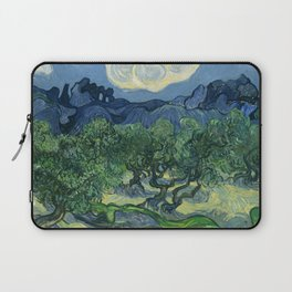 "Vincent van Gogh ""Olive Trees with the Alpilles in the Background"" Laptop Sleeve"