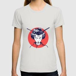 Japanese Woman Girl Girl Gift T-shirt