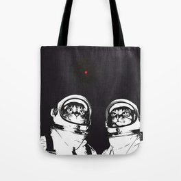 astronaut cats Tote Bag