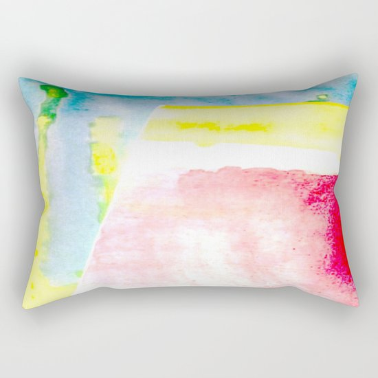 Primary New Year Colors Rectangular Pillow