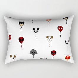 Pixel Ballons Rectangular Pillow