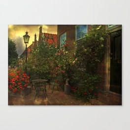 Woudrichem- a small town in the middle of the Netherlands Canvas Print