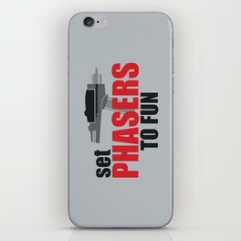 Set Phasers to Fun! iPhone Skin