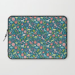 Dinosaurs + Unicorns Laptop Sleeve