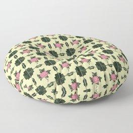 Floor Series: Peranakan Tiles 62 Floor Pillow