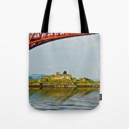 Inchgarvie Island Tote Bag