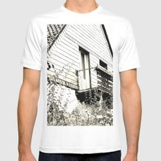 Ghosthouse White Mens Fitted Tee MEDIUM