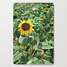 Flower No 6 Cutting Board