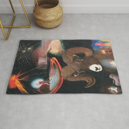 Aries - Zodiac Wildlife Series Rug