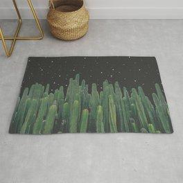 Starry Night Cactus Rug