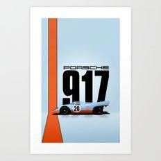 Porsche 917-022 Art Print