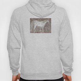 Abstract Silver Hoody