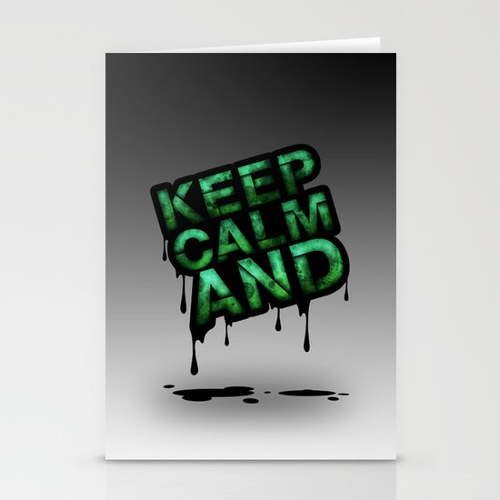 Keep Calm And.... Stationery Cards