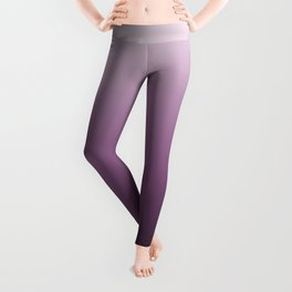 Purple , ink , viola , gradient , Ombre Leggings