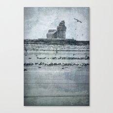 Iced Over Canvas Print