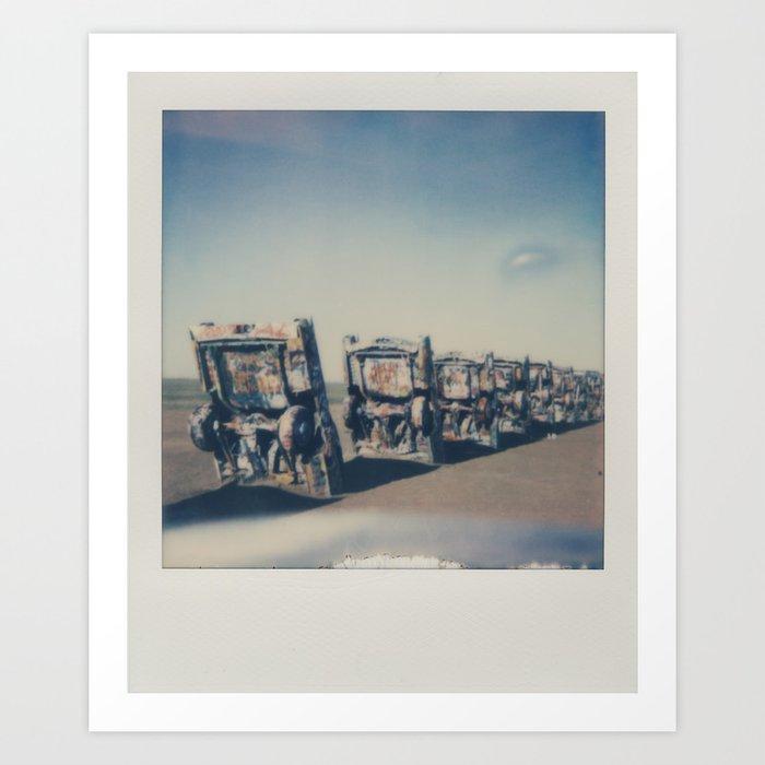 Cadillac Ranch - Route 66 Art Print