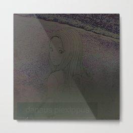 danaus plexippus Metal Print