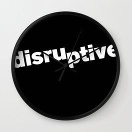 Disruptive Wall Clock