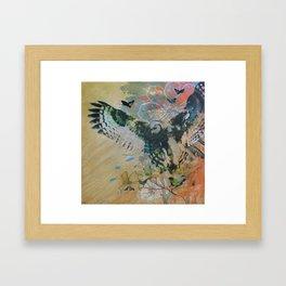 Bubo Capensis Framed Art Print