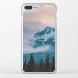 Icefields Parkway, AB Clear iPhone Case
