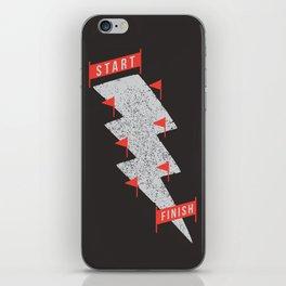 slalom iPhone Skin