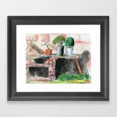 Projects Framed Art Print