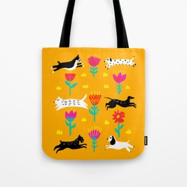 Dog park 2 Tote Bag