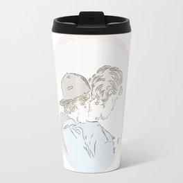 Evak alt er love Travel Mug
