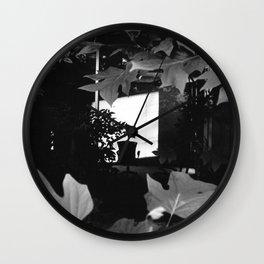 Intrusion Wall Clock