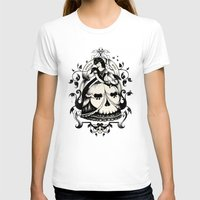 death T-shirts featuring Mrs. Death by Enkel Dika